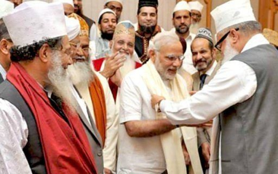 NaMo-attends-World-Sufi-Forum